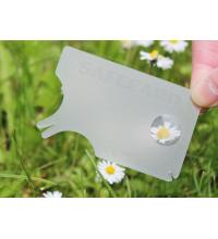 tekenkaart safecard transparant