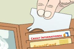 tekenkaart creditcard pinpas