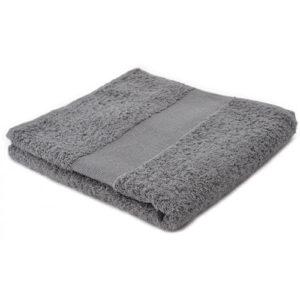 Sophie Muval handdoek 100x50 cm kleur grijs