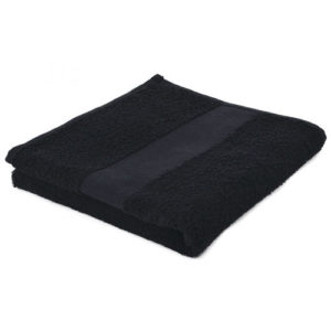Sophie Muval Handdoek 100x50 cm zwart