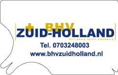 tekenkaart met instructie BHV